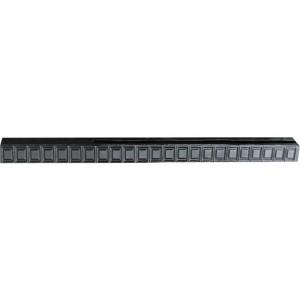 """Форма для столба """" Филенка """" распашная из АБС №28 с пазами Размеры: 2750х125х125 мм"""
