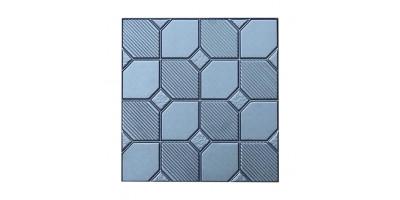 """Форма для тротуарної плитки з АБС """"Шахматка"""" №6 Розміри: 400х400х40 мм"""