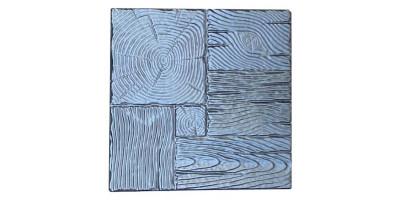 """Форма для тротуарної плитки з АБС """"Дерево"""" №9 Розміри: 400х400х40 мм"""