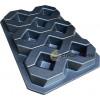 Форма для тротуарной плитки из АБС Газонная №1 Размеры: 600х400х60 мм