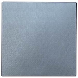 """Форма для тротуарної плитки з АБС """"Гладка"""" №7 для гумової крихти Розміри: 500х500х50 мм"""