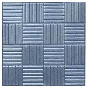 "Форма для тротуарной плитки из АБС ""Шоколадка"" №2 Размеры: 300х300х30 мм"