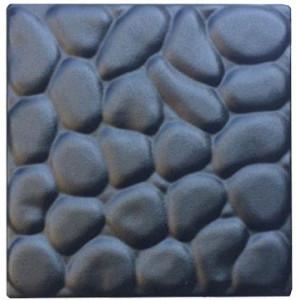 "Форма для тротуарной плитки из АБС вставка ""Галька"" №6 Размеры: 200х200х30 мм"