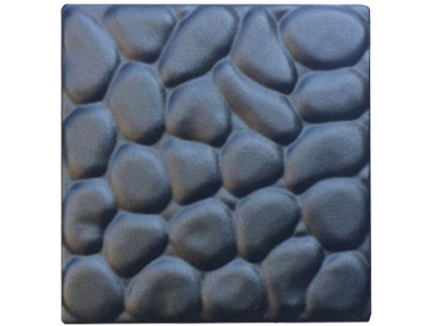 """Form for paving slabs from ABS insert """"Pebbles"""" No. 6 Size: 200x200x30 mm"""