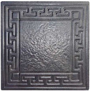 """Form for paving slabs from ABS insert """"Greece"""" No. 5 Size: 200x200x30 mm"""