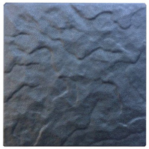 """Form for paving slabs from ABS insert """"Chipped stone"""" No. 7 Size: 200x200x30 mm"""
