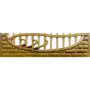 ABS plastic molds for fences No. 102