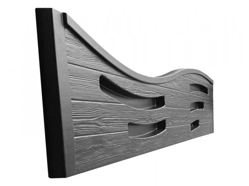Как сделать красивый бетонный забор?