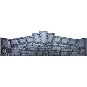 Форма для паркану з АБС № 1.017