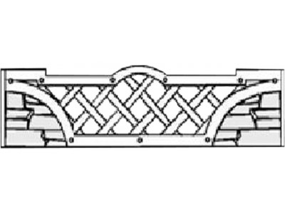 Форма для забора из АБС № 1.021.16