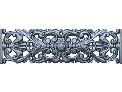 Форма для паркану з АБС № 57