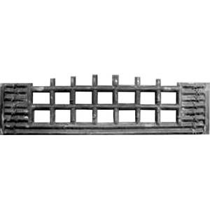Форма для паркану з АБС № 72.2